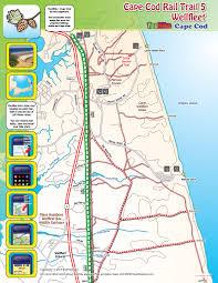 cape cod rail trail 1 wellfleet trail map