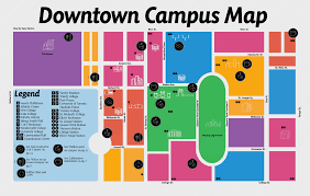 Smith College Map Downtown Campus Map U2013 The Varsity