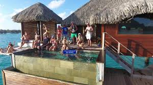 bora bora overwater bungalow imd trip 2017 youtube