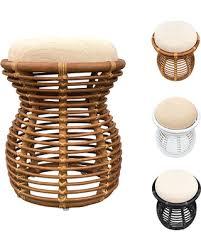 Rattan Pouf Ottoman Shopping Special Rattan Pouf Ottoman Footstool Stool
