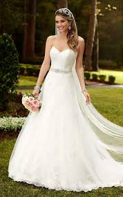 lace wedding dress with belt how to choose a wedding dress for your type 8 tips and 31