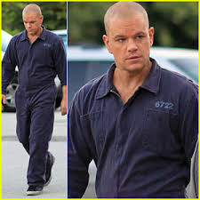 Prison Jumpsuit Matt Damon U0027elysium U0027 Prison Break Matt Damon Just Jared