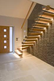 Modern Staircase Wall Design Dijon Tumbled Limestone Tiles Mystonefloor Contemporary