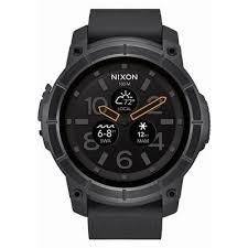 smart watches android nixon mission android wear smart black jb hi fi