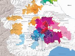 Map Of Italy by The Wines Of Piedmont Italy Docs And Docgs Wine Folly