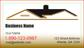 contractor business cards designsnprint