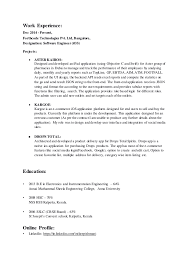 Ios Developer Resume Examples by Download Resumedocx Haadyaooverbayresort Com