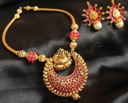 pendant necklace online images Buy royal handmade kemp lakshmi necklace set royal handmade kemp JPG