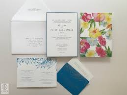 wedding invitations island island watercolor ceci style