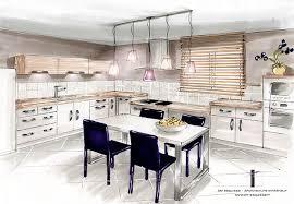 cuisine en perspective croquis cuisine concept sketches sketches croquis