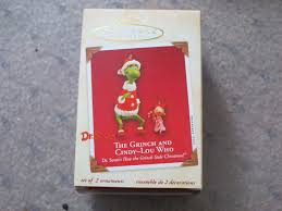 hallmark the grinch and lou who keepsake ornament ebay