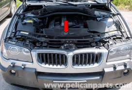 pelican technical article bmw x3 engine cooling fan replacement
