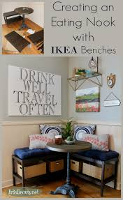 art is beauty creating an eating nook with ikea benches