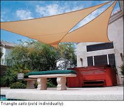 Triangle Awnings Canopies Coolaroo Shade Sails Lee Valley Tools