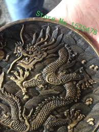 dragon home decor decoration crafts chinese ancient rocks stone carved dragon totem