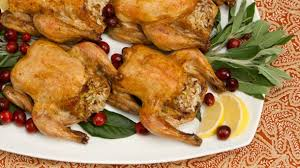 roasted stuffed cornish hens best recipes