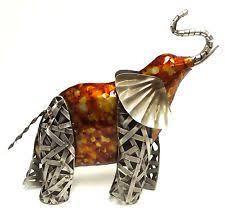 16 99 stunning bronze metal elephant ornament sculpture figure
