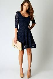 cocktail dress navy cocktail dress with sleeves