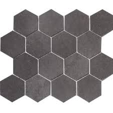 light grey hexagon tile hexagonal tile you ll love wayfair