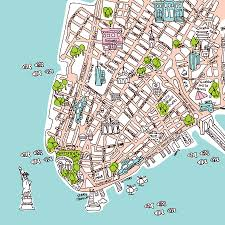 Map Of Manhattan New York City by Barcelona Spain Download Cad Map City In Dwg Ready To Use In Maps