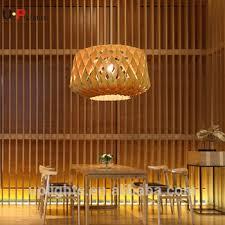 Bamboo Ceiling Light Decoration Interior Bamboo Pendant Lighting For Hotel Buy