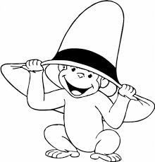 baby monkey coloring pages to print virtren com