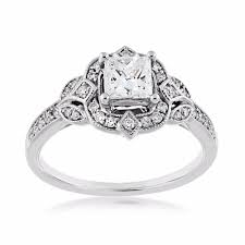 princess cut engagement rings white gold princess cut engagement ring in 14 kt white gold re
