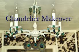 Chandelier Makeover Chandelier Makeover U2013 Real Life Madness