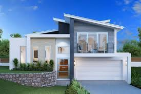 bi level house plans with attached garage modern cool modified bi level floor plans design decor