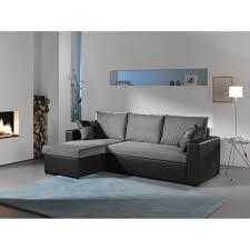 canapé d angle noir et gris orlando canapé d angle convertible réversible noir gris 225 x