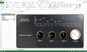 creating interactive excel dashboard excel dashboard templates