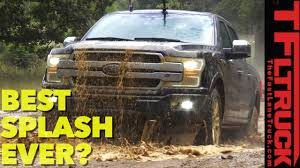 jeep grand cherokee mudding would you do this with a new 63k 2018 ford f150 platinum video