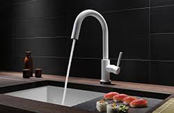 brizo kitchen faucets brizo 63221lf solna single handle articulating kitchen faucet
