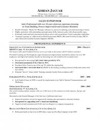 Retail Supervisor Resume Sample by The Most Elegant Call Center Supervisor Resume Resume Format Web