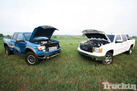 Ford Raptor Reliability - procharger u0027s 6 2l battle ford raptor vs gmc sierra boosted