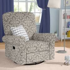 Nursery Glider Recliner Gliders U0026 Ottomans Wayfair