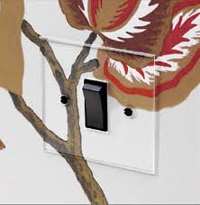 clear light switch cover smart design clear light switch plates my pet peeve solved