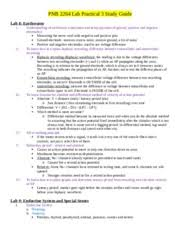 Study Guide Anatomy And Physiology 1 Pnb 2264 Human Physiology And Anatomy 1 Uconn Course Hero