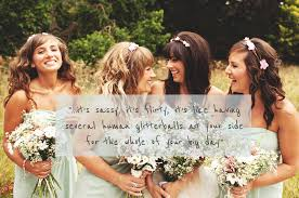 bridesmaids quote les demoiselles rock my wedding uk wedding