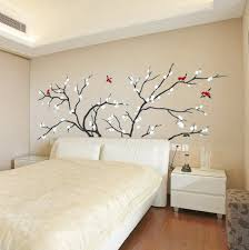 Headboard Wall Decal Headboard Wall Decal Birds Fly In Plum Tree Wall Stickers