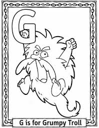 g coloring pictures printable coloring pages alphabet goat and