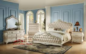 Affordable Bedroom Sets Houston Tx White Nelly Bed By Esf Wmodern - White bedroom furniture bhs