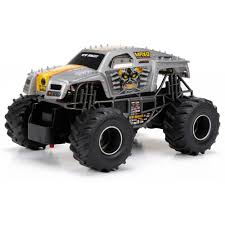 rc monster truck racing new bright 1 24 monster jam rc truck walmart com