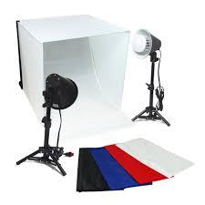 Box For Lights 24 Led Folding Tabletop Photo Tent Open Top Cube Box Lighting Kit