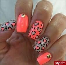 party nail with cheetah nails pinterest pink cheetah