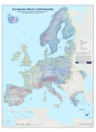 Europe Rivers Map by European Environment Agency U0027s Home Page U2014 European Environment Agency