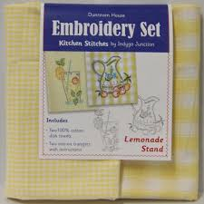 embroidery kits dunroven house