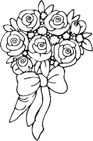 coloriage fleurs et plantes roses à colorier allofamille