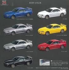 nissan blue paint code gtr registry com en r34 colours