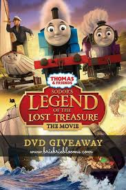 thomas u0026 friends sodor u0027s legend lost treasure dvd giveaway